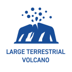 Large Terrestrial Volcano