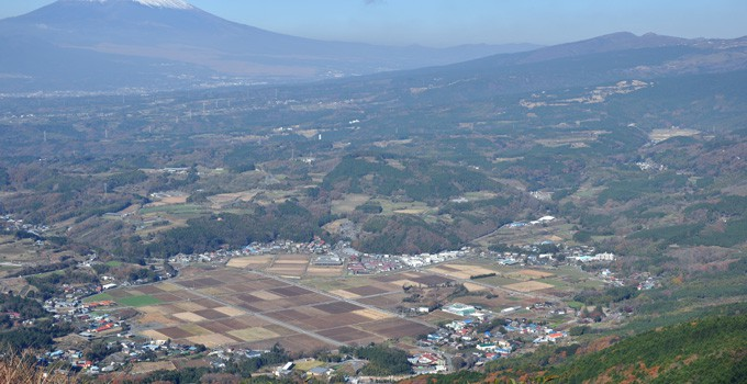 Izu skyline viewpoint