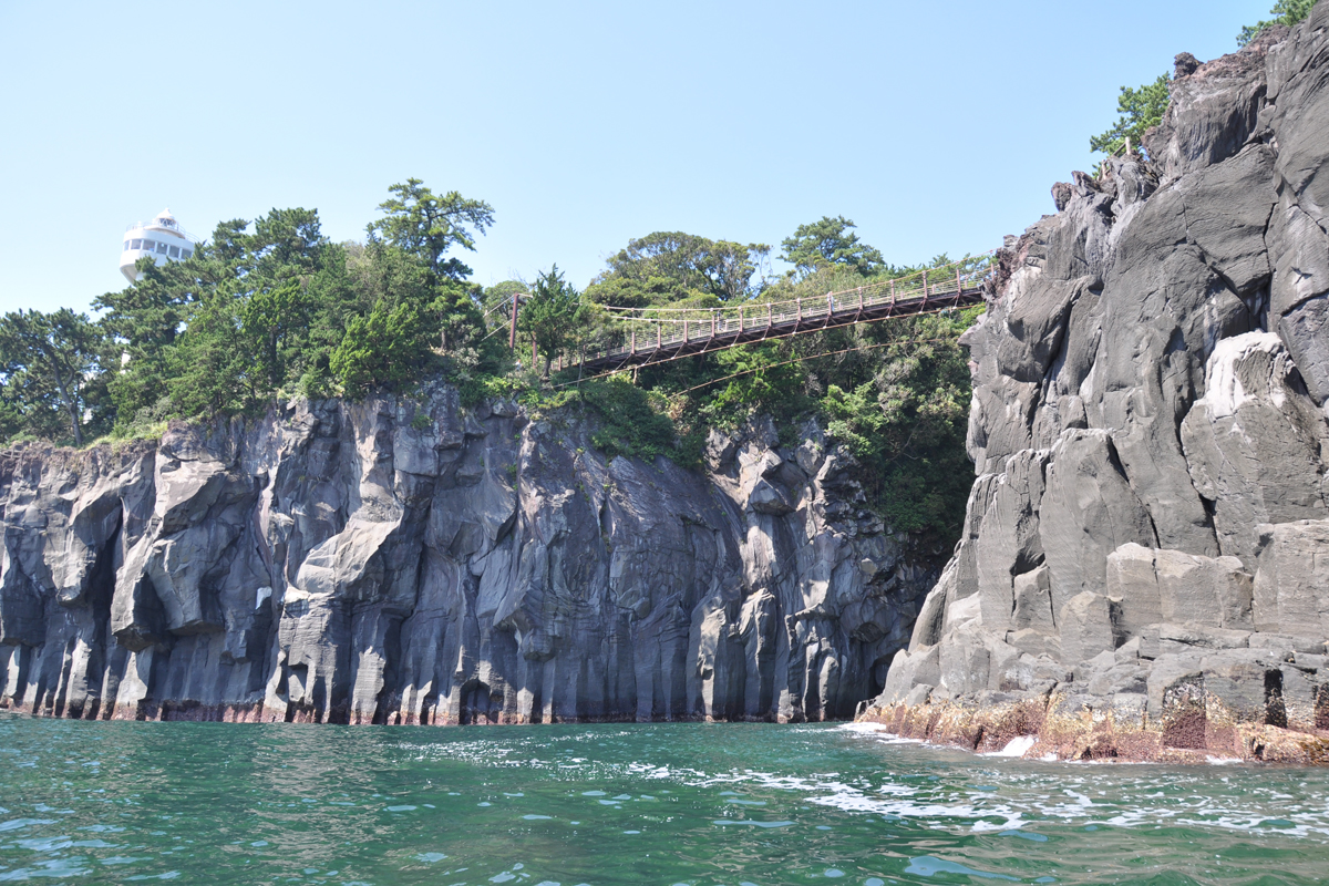 North Jogasaki Coast: Kadowaki Suspension Bridge